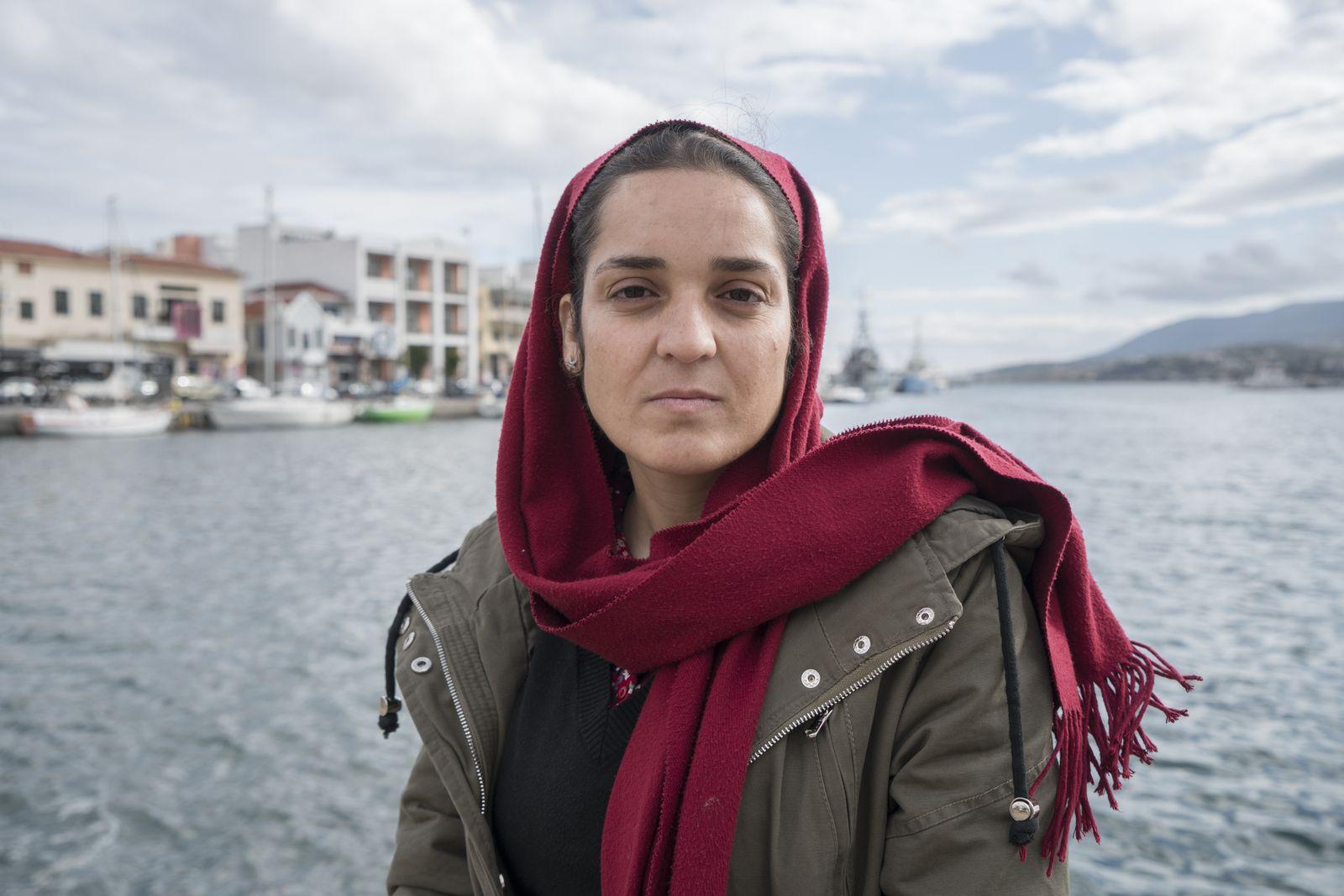EINMALIGE VERWENDUNG Karime (17) aus Helmand