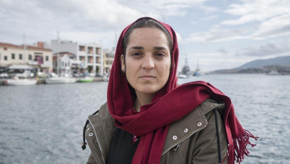 Afghanin Karime war 18 Tage im Hungerstreik
