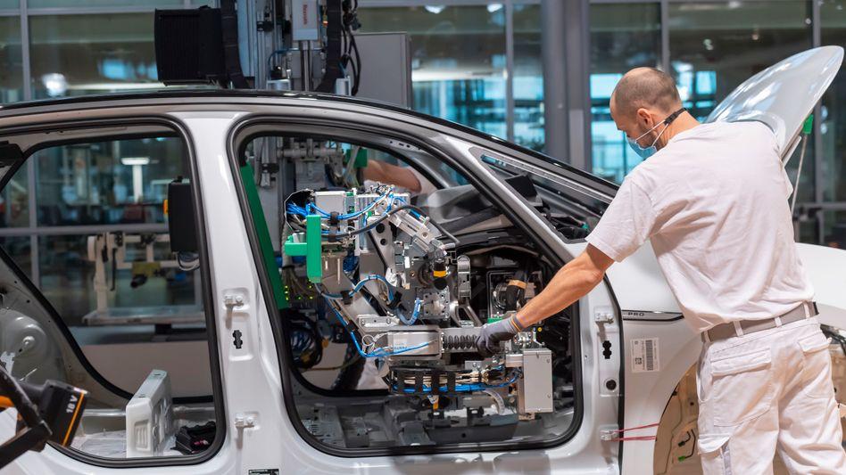 Mitarbeiter bei Volkswagen: Gute Aussichten?