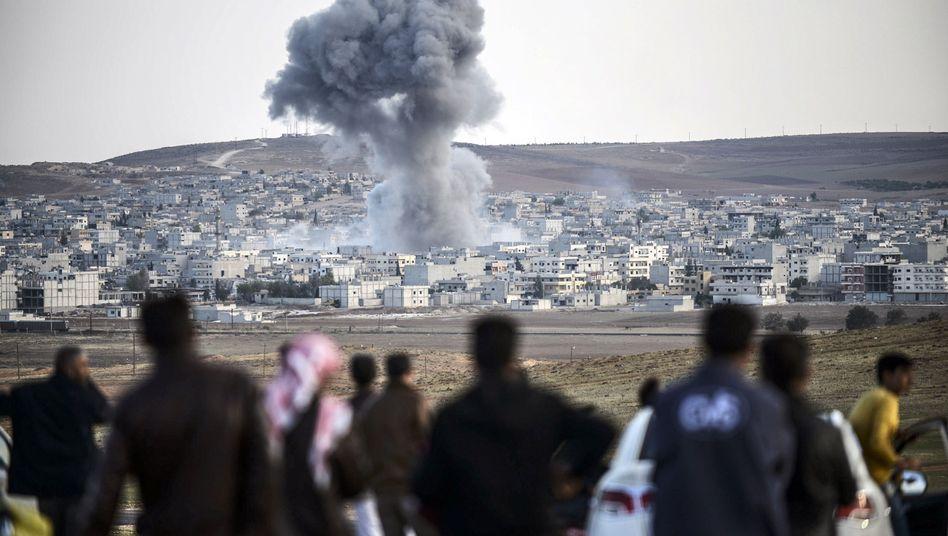 Angriffe auf Kobane: Die IS-Miliz startet offenbar Vorstöße in den Westen