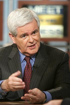 """Republikaner Newt Gingrich: """"Geht Condi demnächst noch mit Kim Jong Il tanzen?"""""""