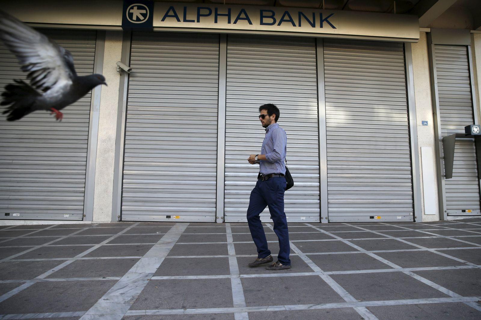 Griechenland/ Bank