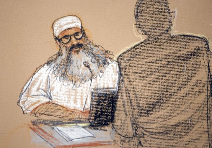 Khalid Sheikh Mohammed wurde 180 Stunden am Stück am Schlafen gehindert