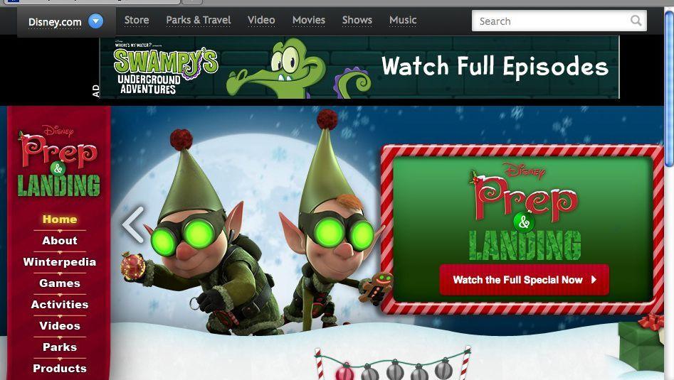 """Disney-Weihnachtsfilm """"Prep & Landing"""": Ärger mit dem Rechte-Management"""