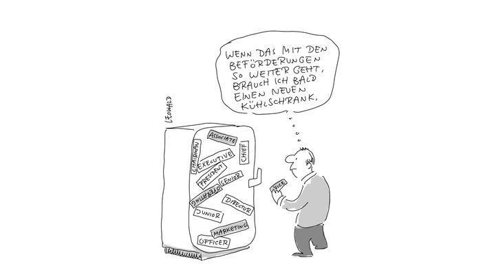 Cartoons zur Bürowelt: Ziemlich beste Feinde