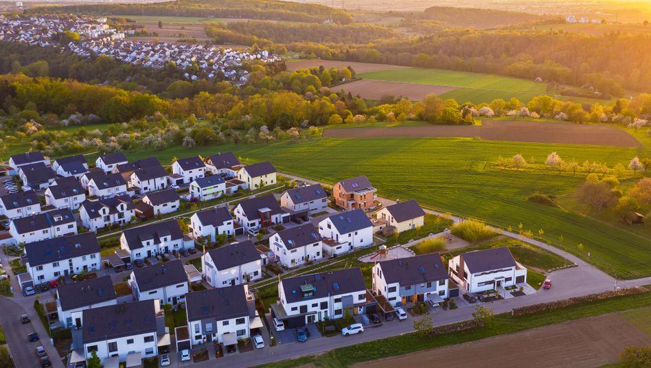 """Wohnhäuser in Waiblingen (Baden-Württemberg): """"Anstatt zu mieten, in selbst genutzte Eigentumsobjekte investieren"""""""