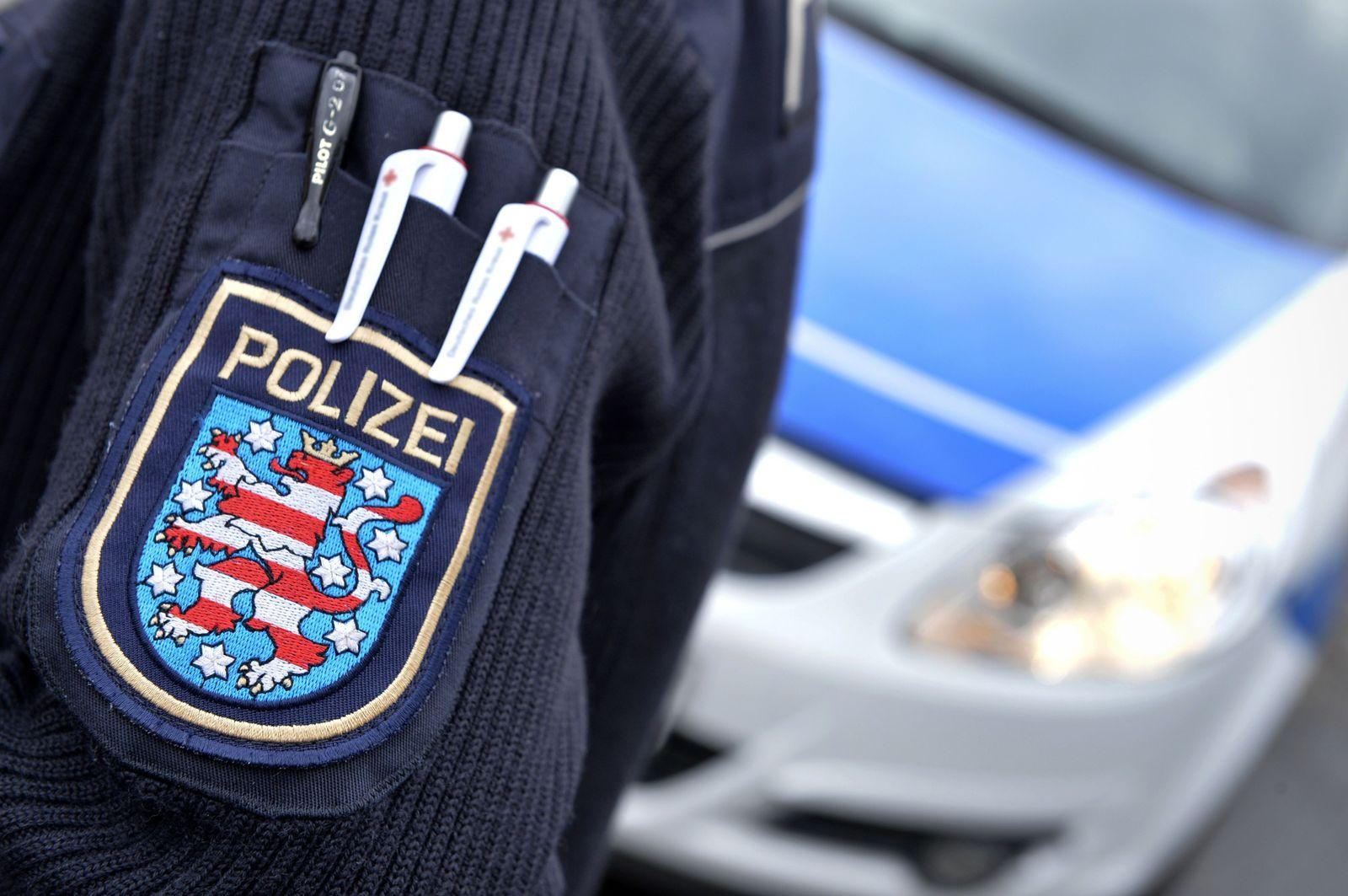 EINMALIGE VERWENDUNG Polizei/ Thüringen