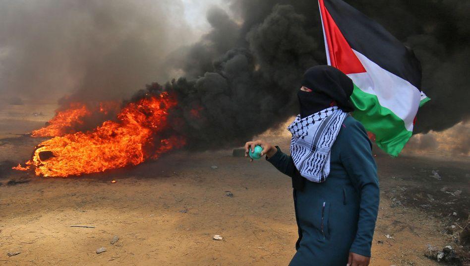 Ausschreitungen im Gazastreifen (Archivbild)