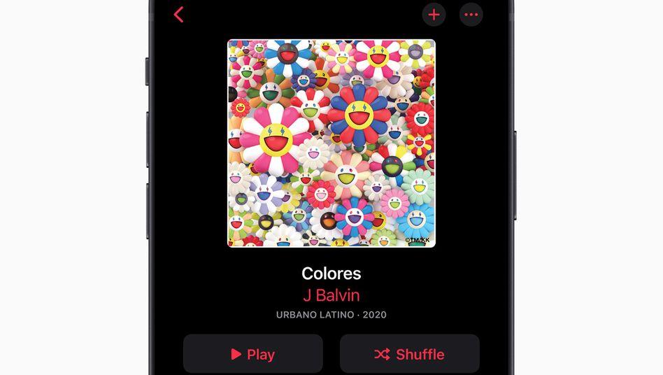 Apple Music auf einem iPhone
