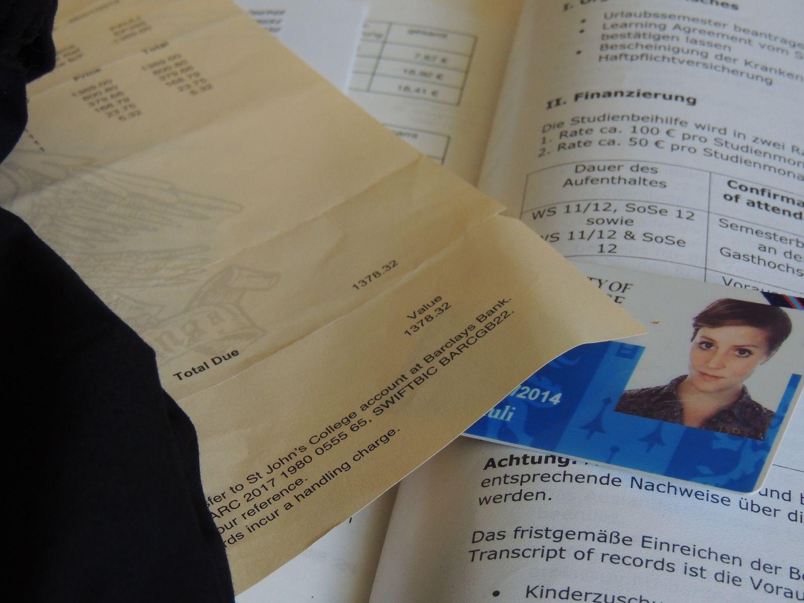 EINMALIGE VERWENDUNG Erasmus Finanzierung