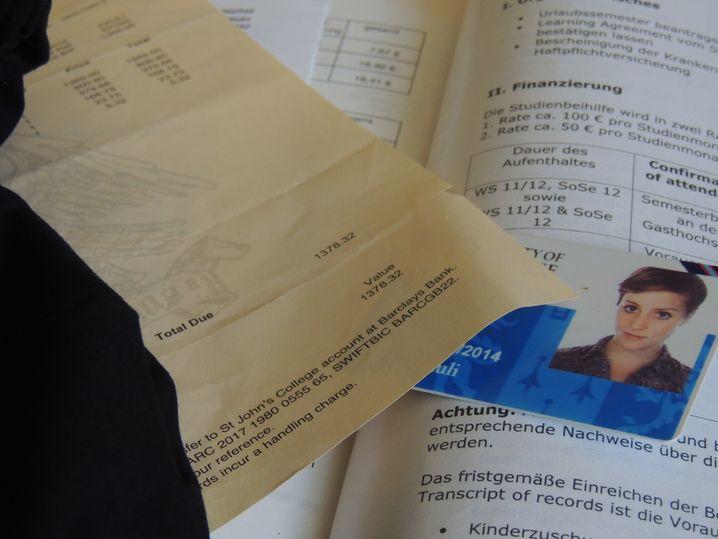 In dieser Erinnerungskiste sammelt unsere Autorin ihre Erasmus-Unterlagen