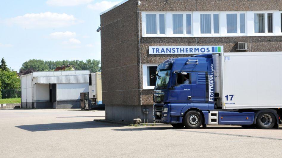 Auf diesem Gelände in Niedersachsen wurden die Waren gelagert - mittlerweile ist das Kühlhaus geräumt