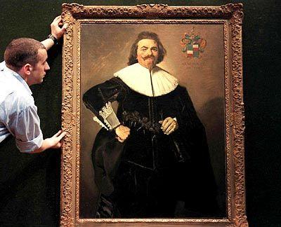 Frans-Hals-Werk bei Auktion: Gemälde als Betrachtungsgegenstand