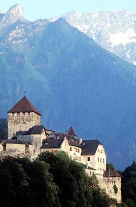 Sitz des Fürsten: die Burg von Vaduz