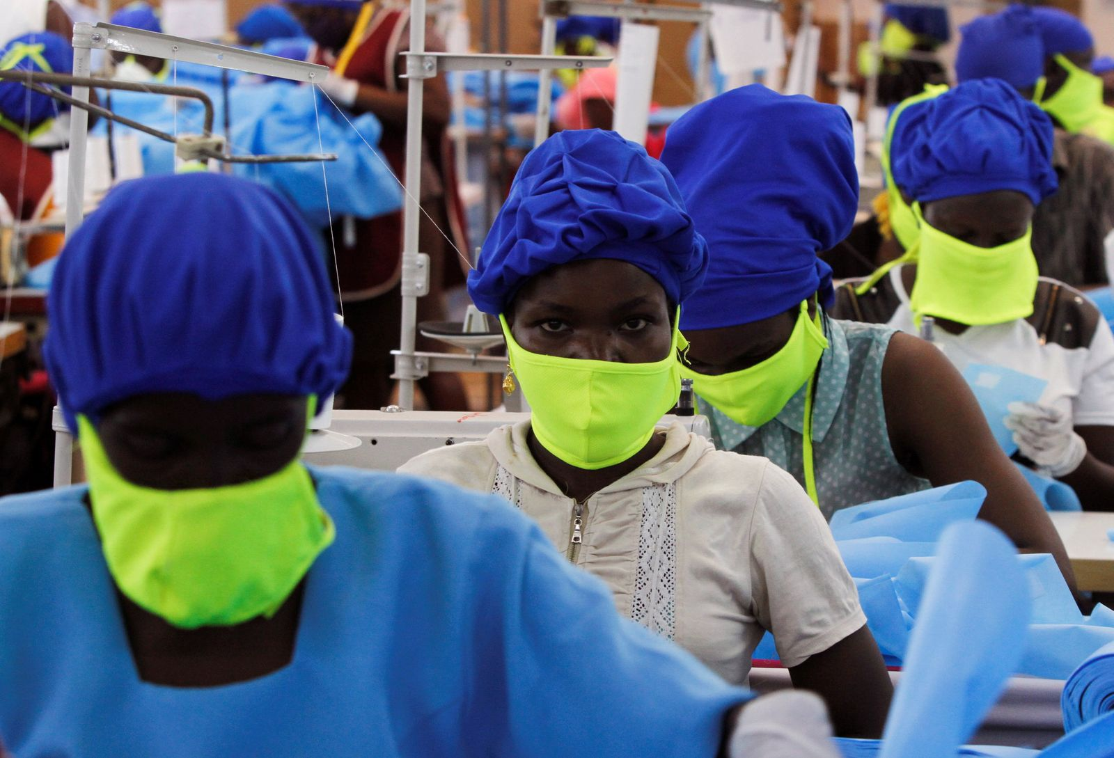 The coronavirus disease (COVID-19) outbreak, in Athi River near Nairobi