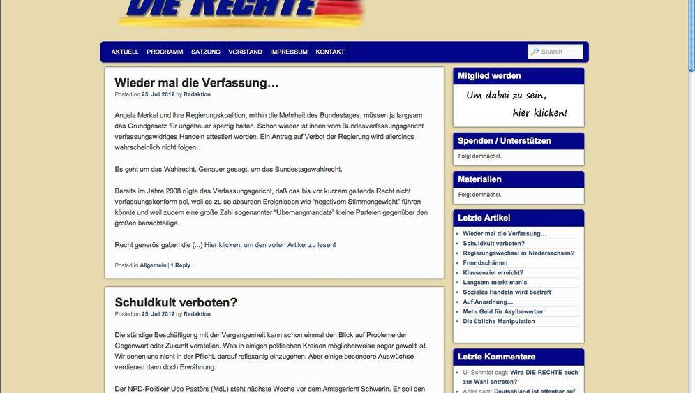 """Neue Partei """"Die Rechte"""": NPD-Konkurrenz am rechten Rand"""