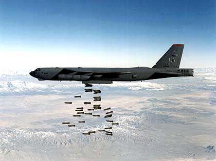 Amerikanischer B-52-Bomber: Kurs auf den Irak