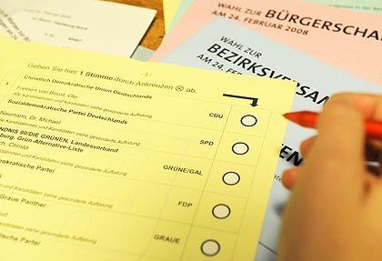 Wahlzettel: Wie frei kann ein Mensch entscheiden?