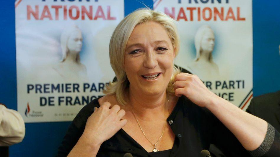 """Wahlsiegerin Le Pen: """"Was für eine Schmach für die EU!"""""""