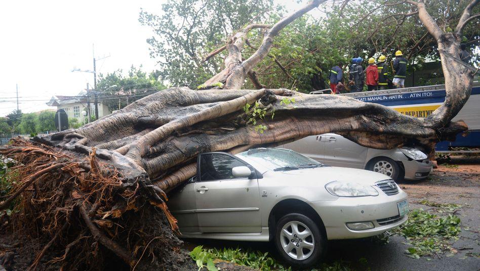 "Philippinen: Mindestens 15 Menschen sterben bei Taifun ""Rammasun"""