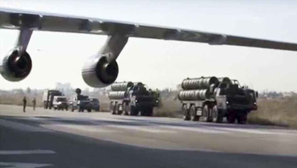 Russisches S-400-Raketenabwehrsystem (Archiv)