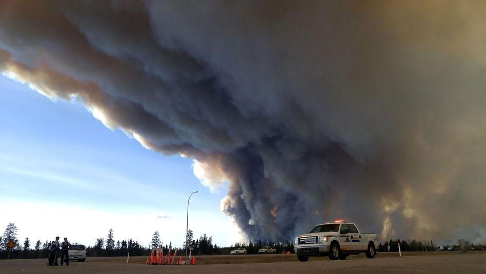 Waldbrände in Kanada im Mai 2016