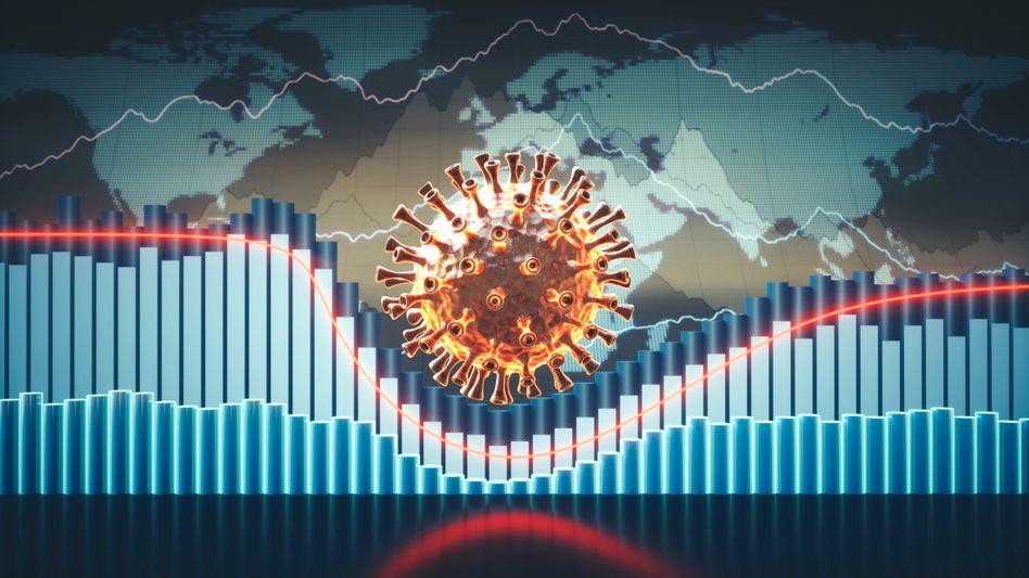Die Pandemie ist auch geprägt von Zahlen, Daten und Statistiken (Symbolbild)