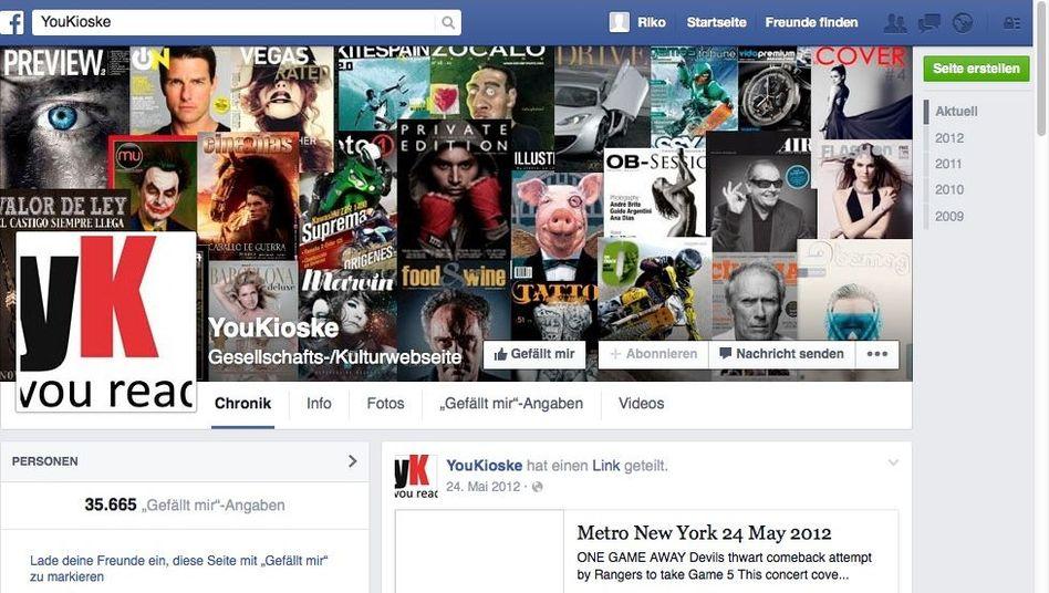 YouKioske: Die Webseite der Verurteilten ist längst offline, die Facebook-Seite kann man noch heute liken