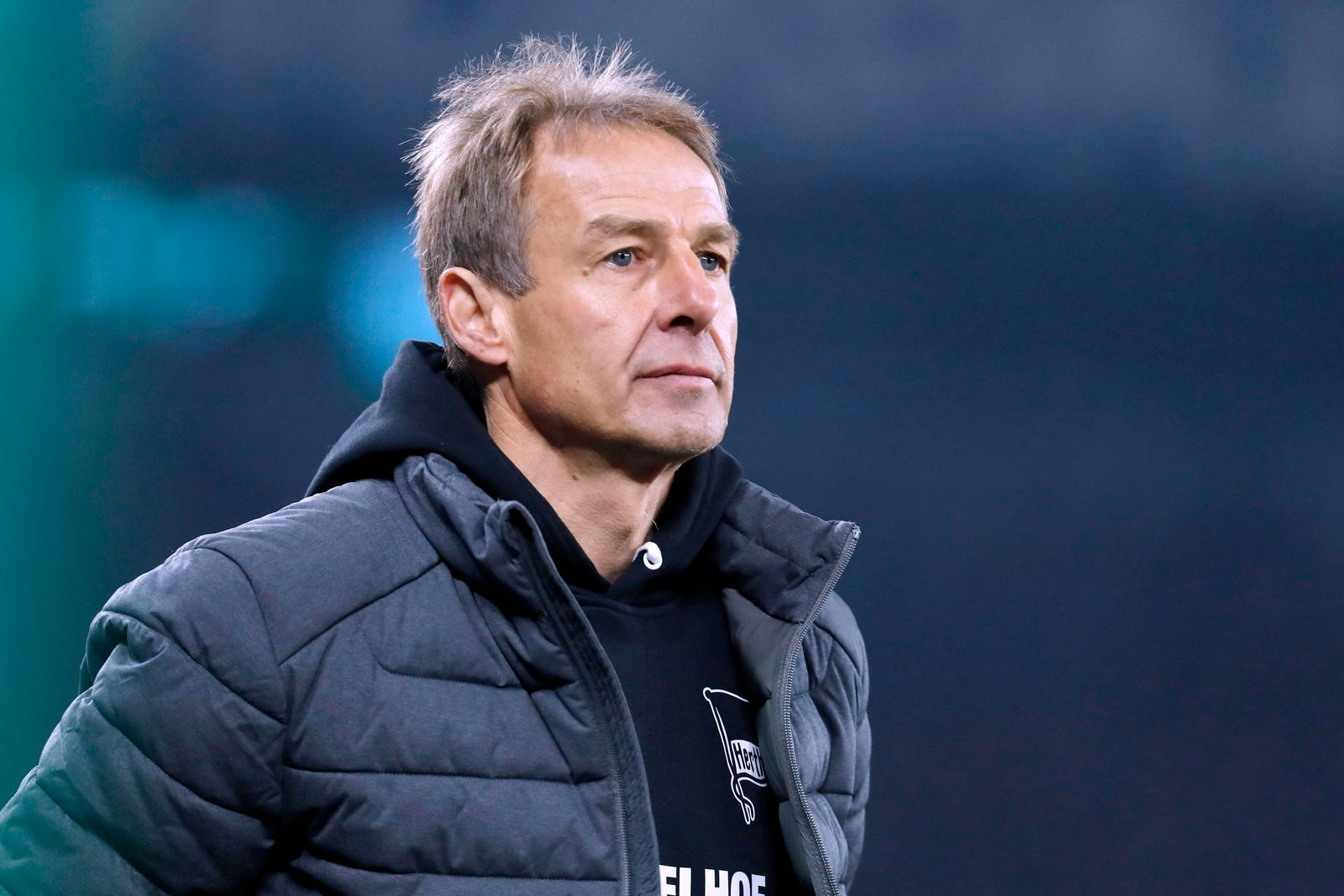 KLINSMANN Juergen Trainer Team Hertha BSC Berlin DFB Pokal Achtelfinale 2019 - 2020 Spiel FC Schalke 04 - Hertha BSC Ber