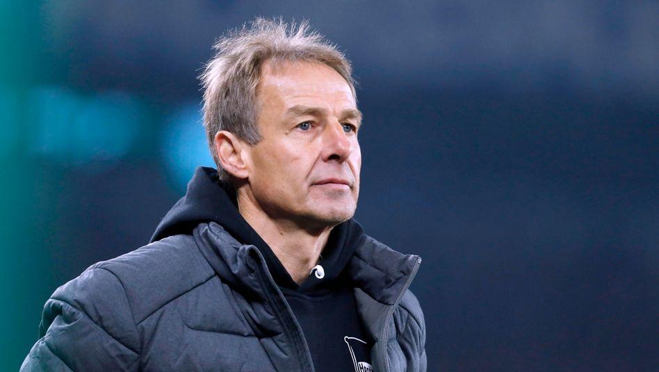 Abschied aus Berlin: Jürgen Klinsmann
