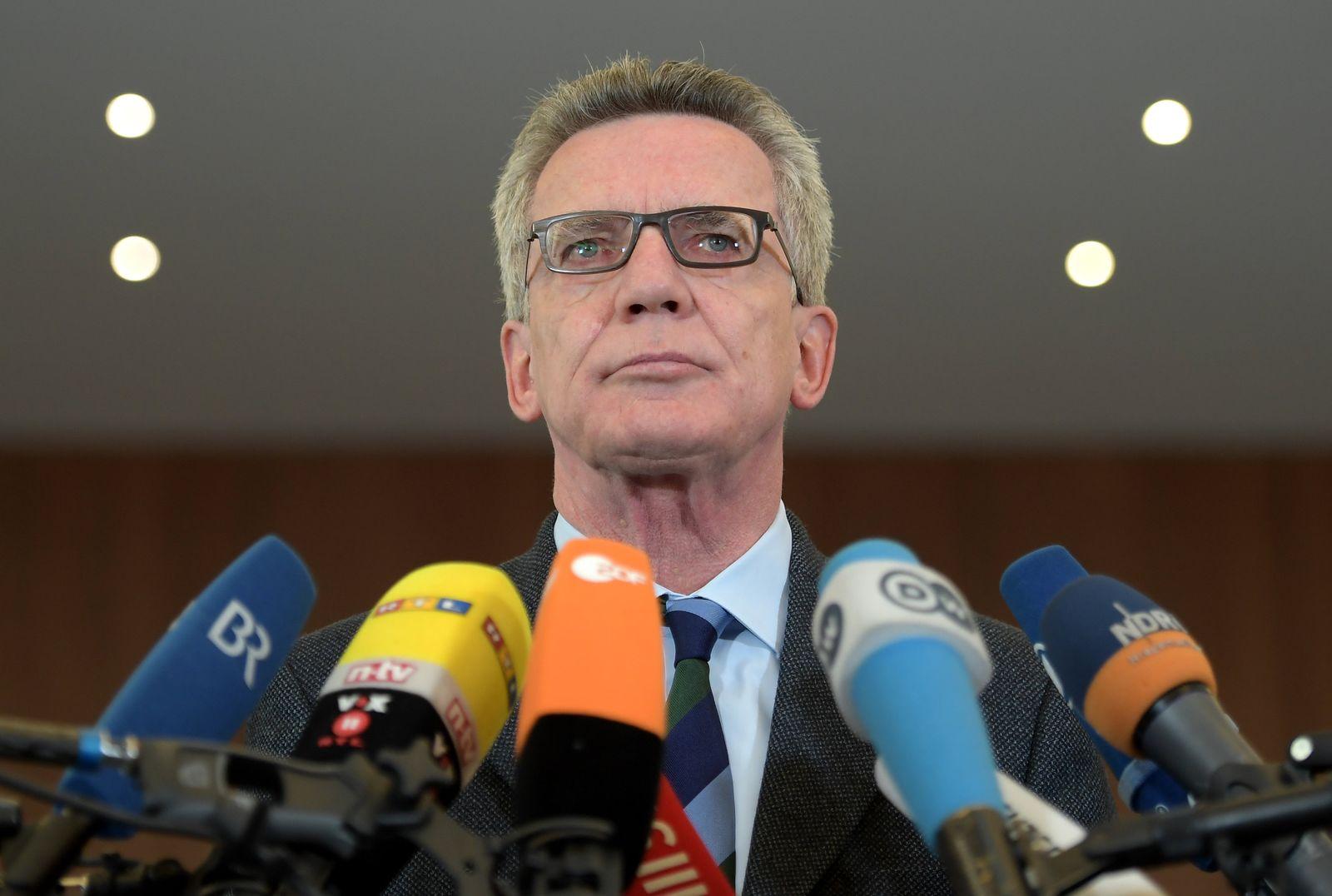Anschlag auf BVB-Bus - Statement Bundesinnenminister