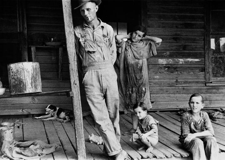 Die letzte Megakrise: Amerikaner während der Great Depression in den Dreißigerjahren
