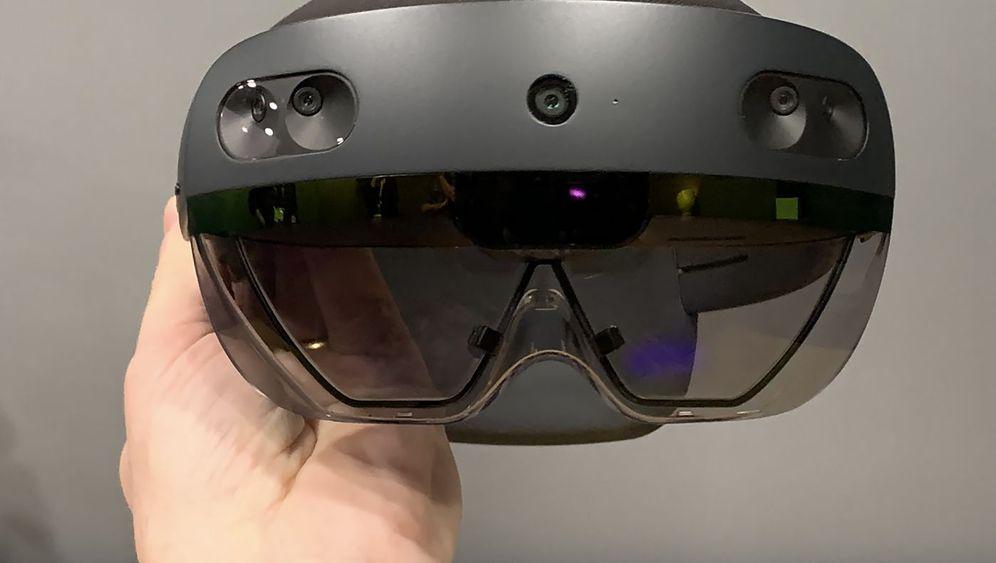 Hololens 2 ausprobiert: Das ist Microsofts neue Computerbrille