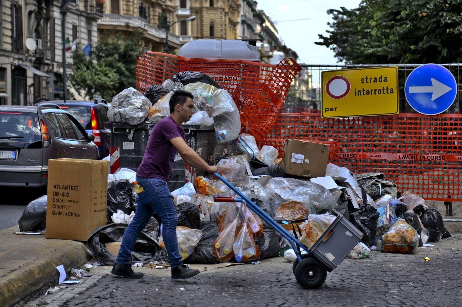 Italien / Müll