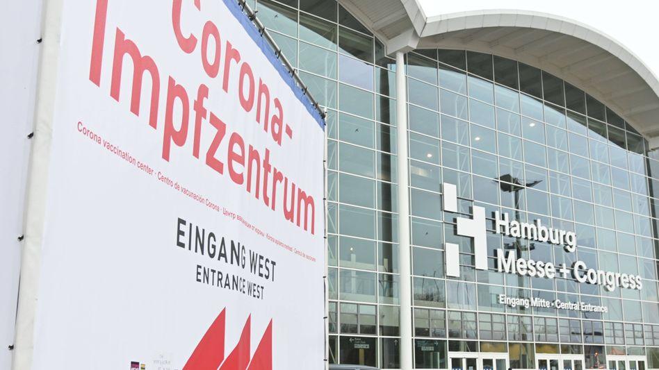 Corona-Impfzentrum in Hamburg: Erschreckend viele Egiosten