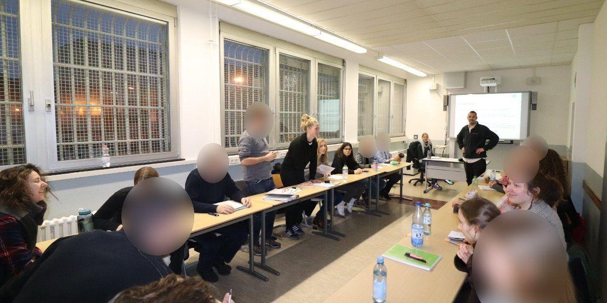 Seminar im Gefängnis, JVA Tegel
