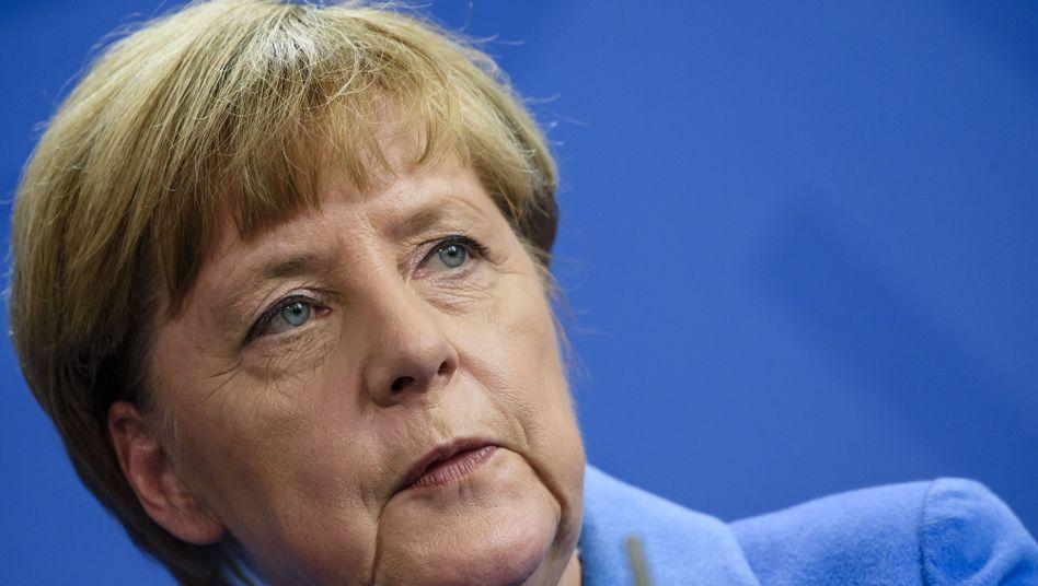 Bundeskanzlerin Angela Merkel: Die Union verliert an Zustimmung