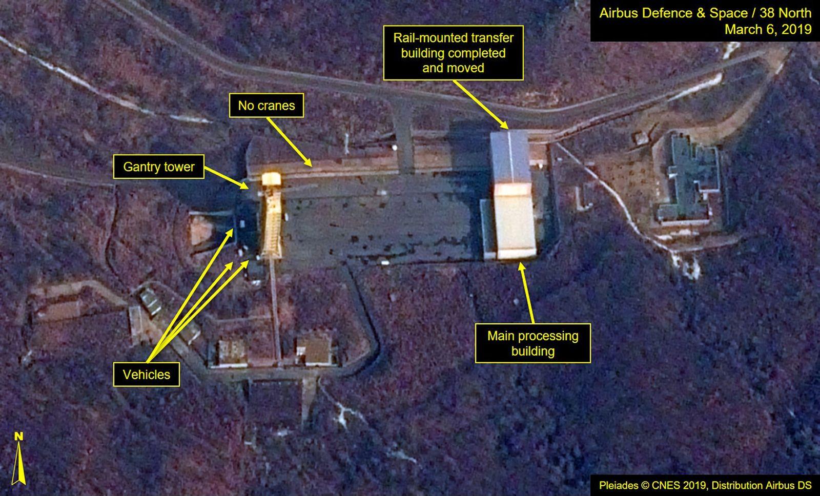 Sohae in Nordkorea