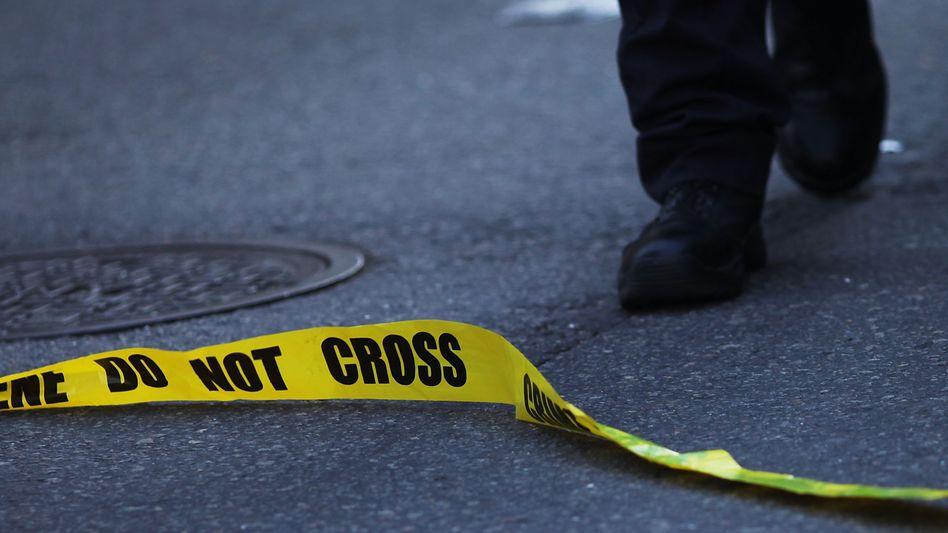 Schauplatz eines Verbrechens in New York: Steigende Mordzahlen