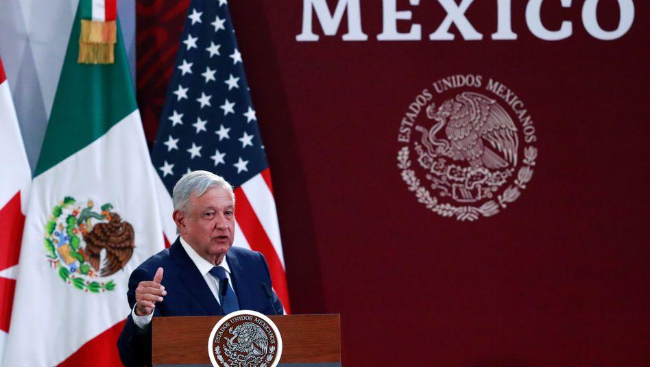 Mexikos Präsident Andrés Manuel López Obrador (Archivbild) hat geliefert