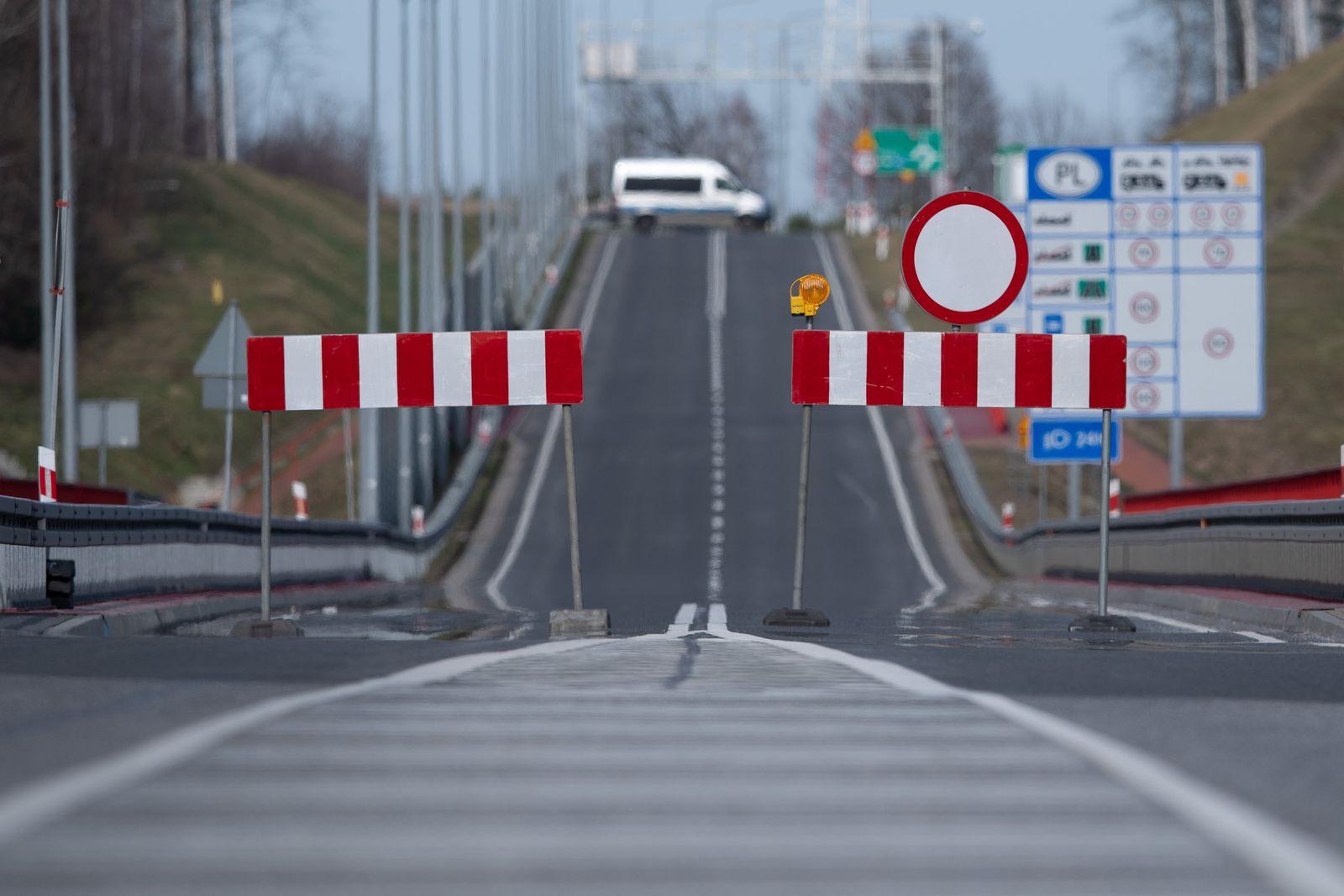 Coronavirus · Grenze zu Polen