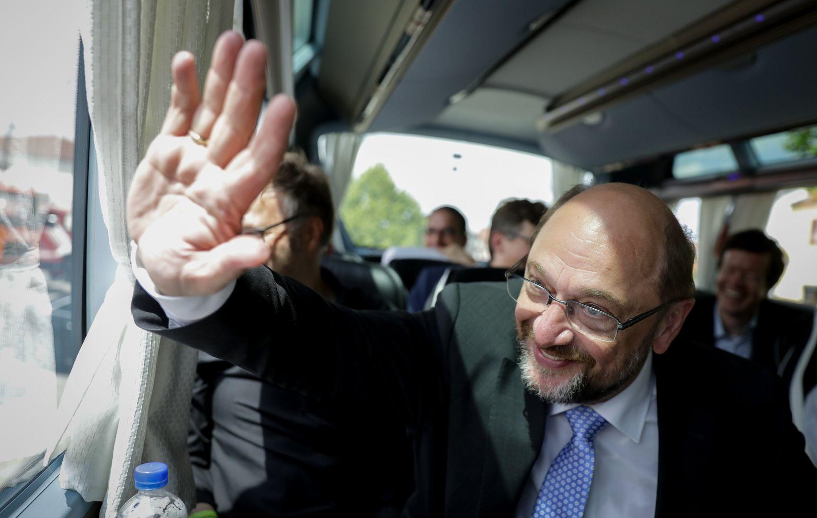 Sommerreise von SPD-Kanzlerkandidat Martin Schulz nach Bayern
