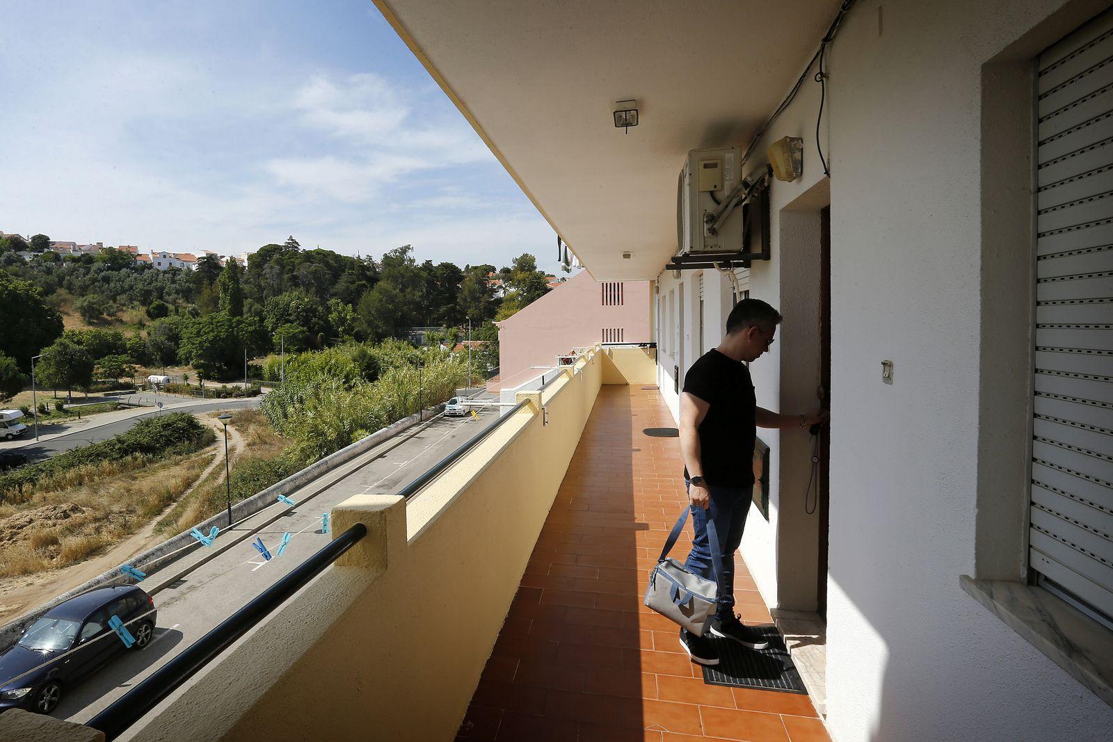 EINMALIGE VERWENDUNG Portugiesen/ Rückkehr/ Tiago Loureiro