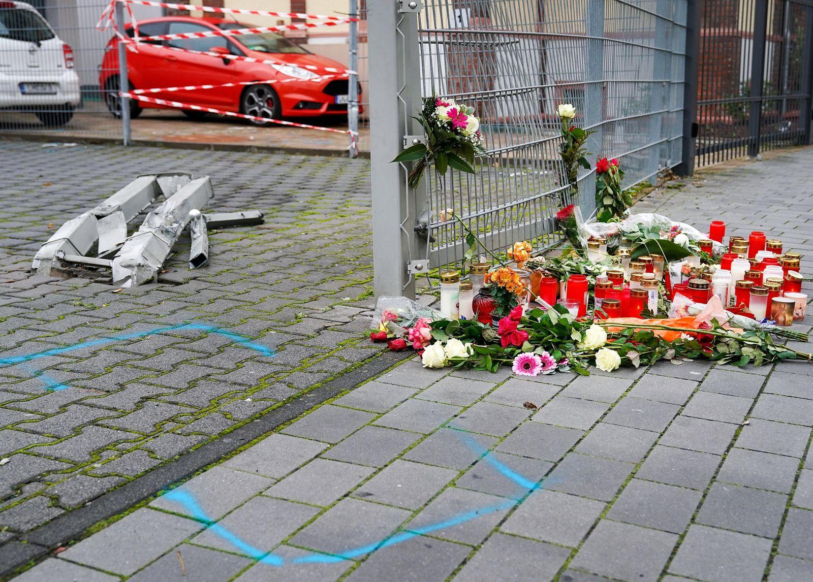 Frau auf offener Straße getötet