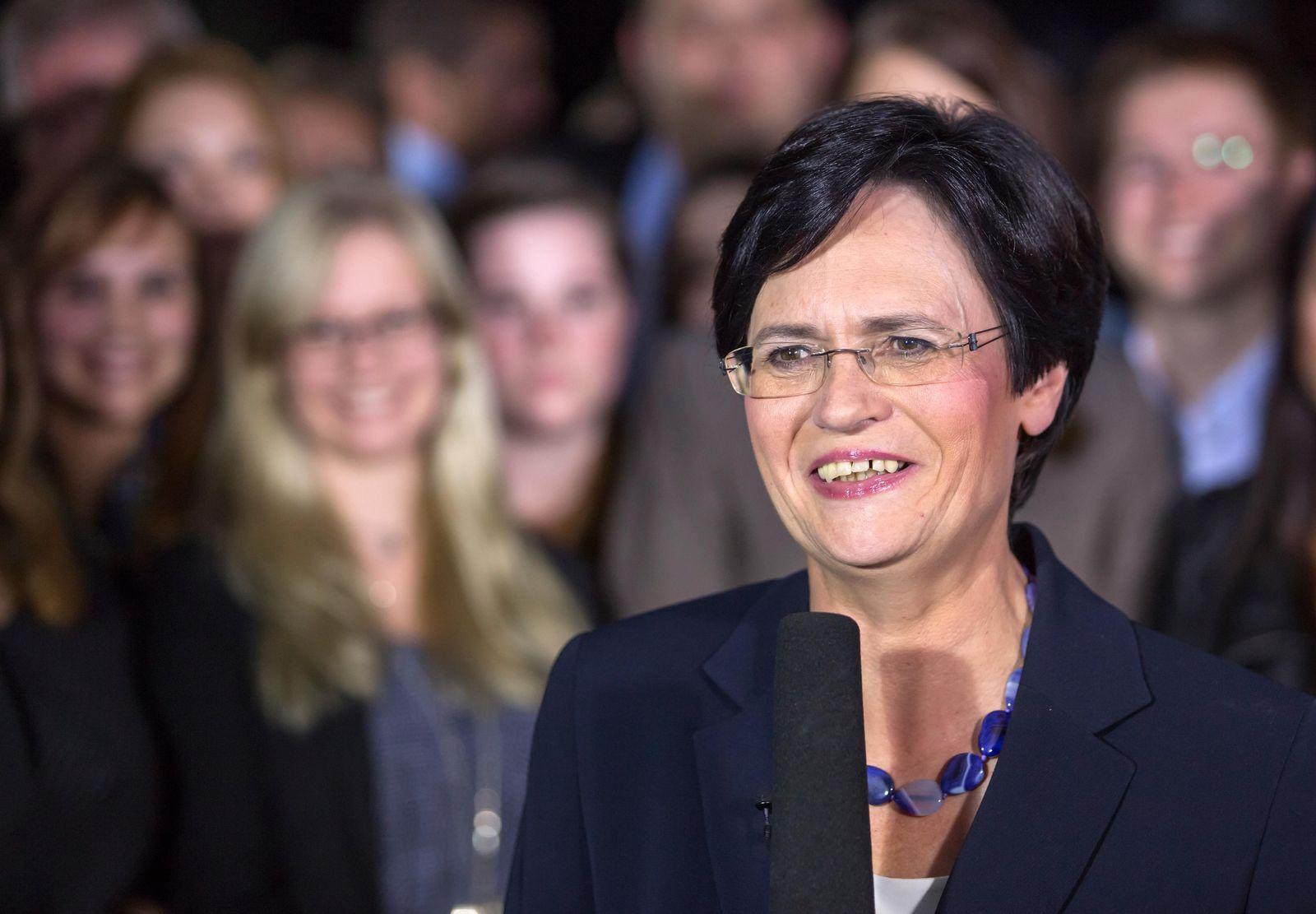 Landtagswahl Thüringen/ Christine Lieberknecht