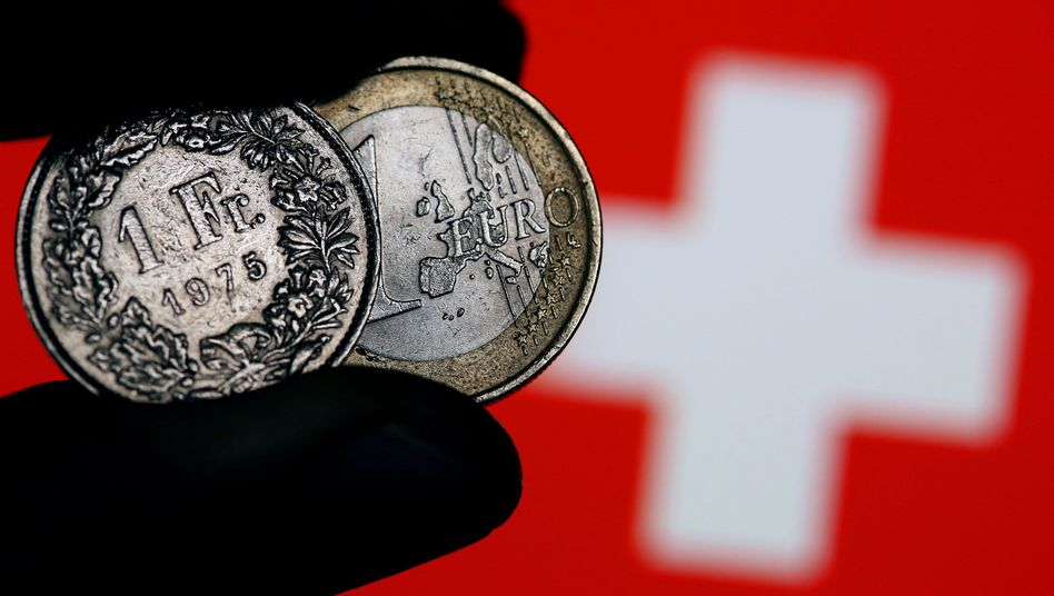 """Euro- und Franken-Münzen: """"Risiko vollkommen unterschätzt"""""""