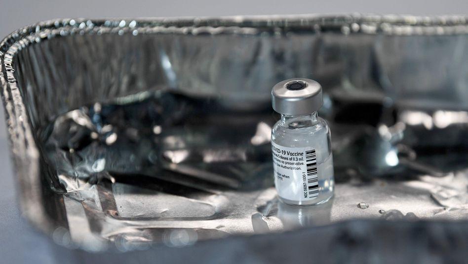 Knappes Gut: Covid-19-Impfstoff