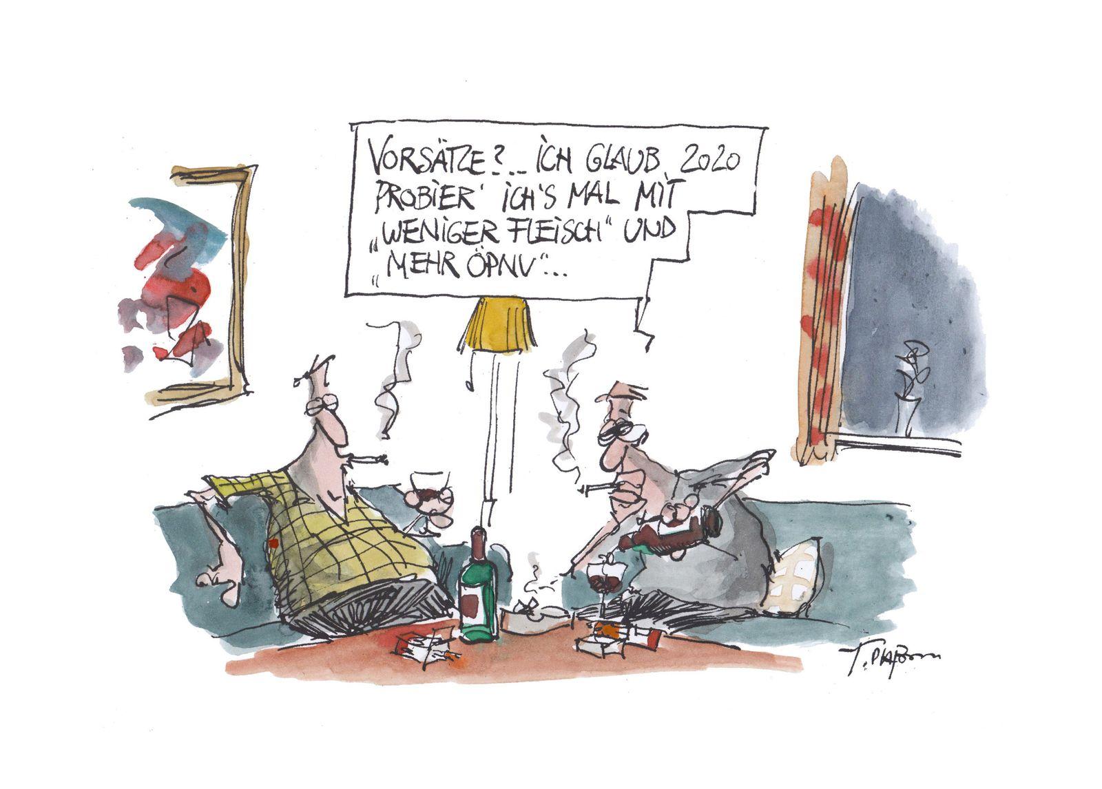 EINMALIGE VERWENDUNG Cartoons/ 01.12.19