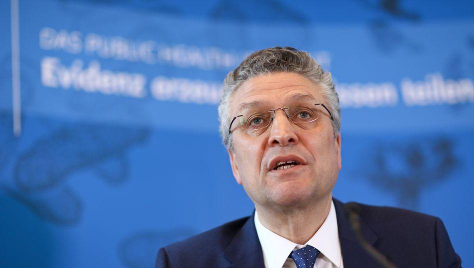 """RKI-Präsident Lothar Wieler: """"Wir wollen nicht, dass das Gesundheitssytem überfordert wird"""""""