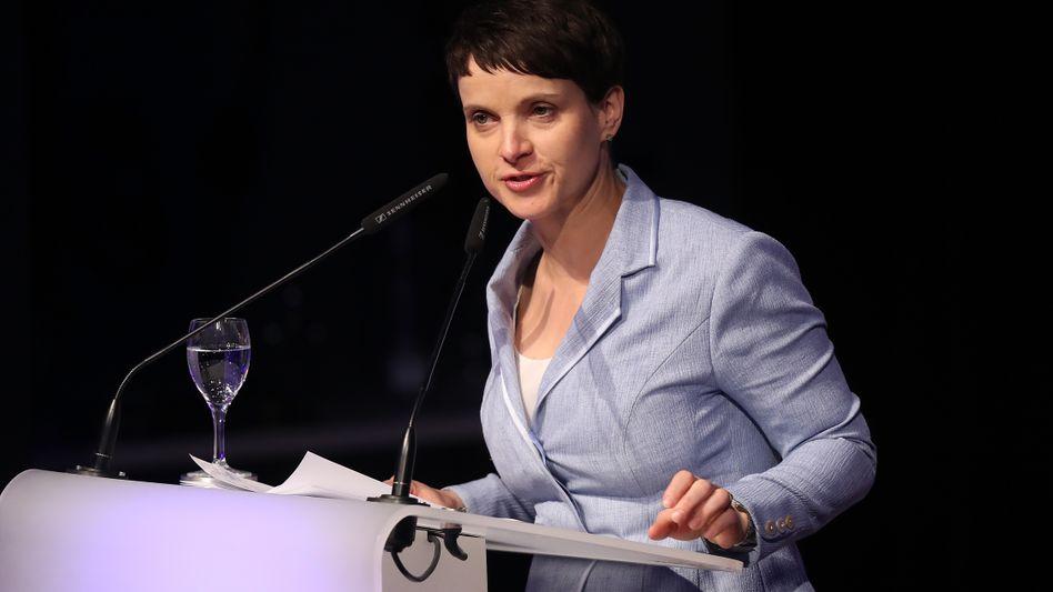 AfD-Vorstandssprecherin Frauke Petry